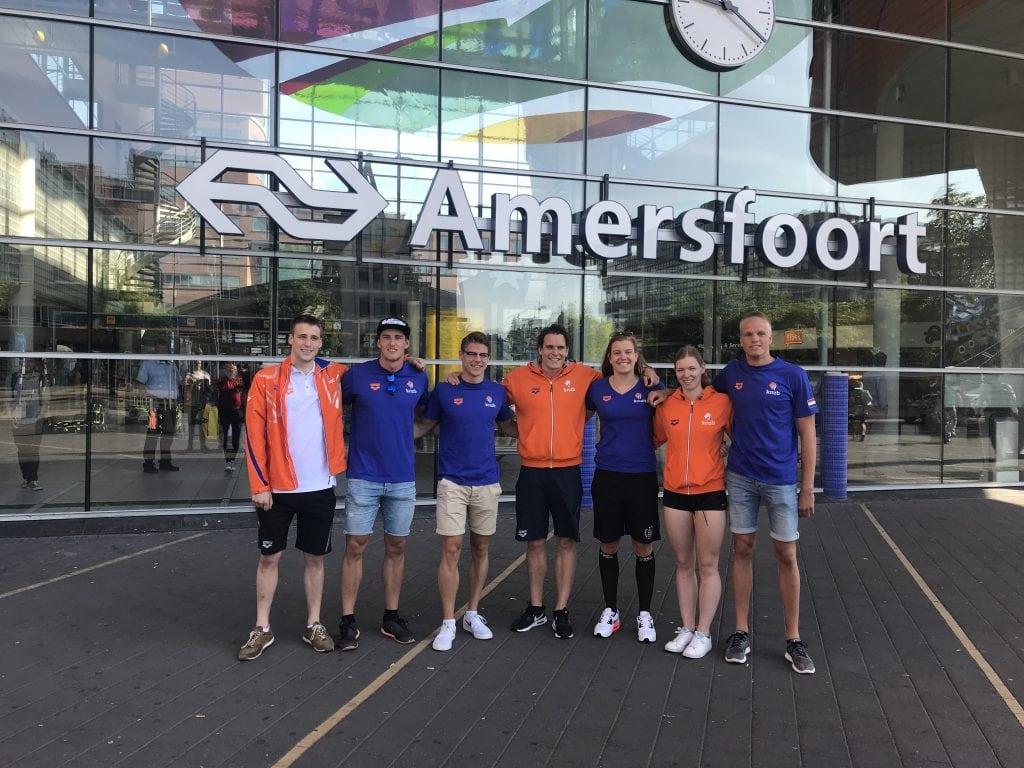 Amersfoortse zwemmers naar Berlijn